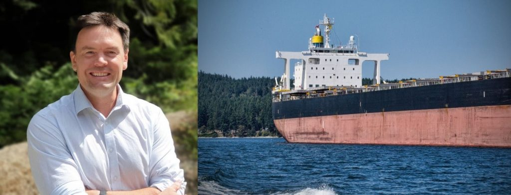 New bill would prohibit freighters from anchoring around Vancouver Island