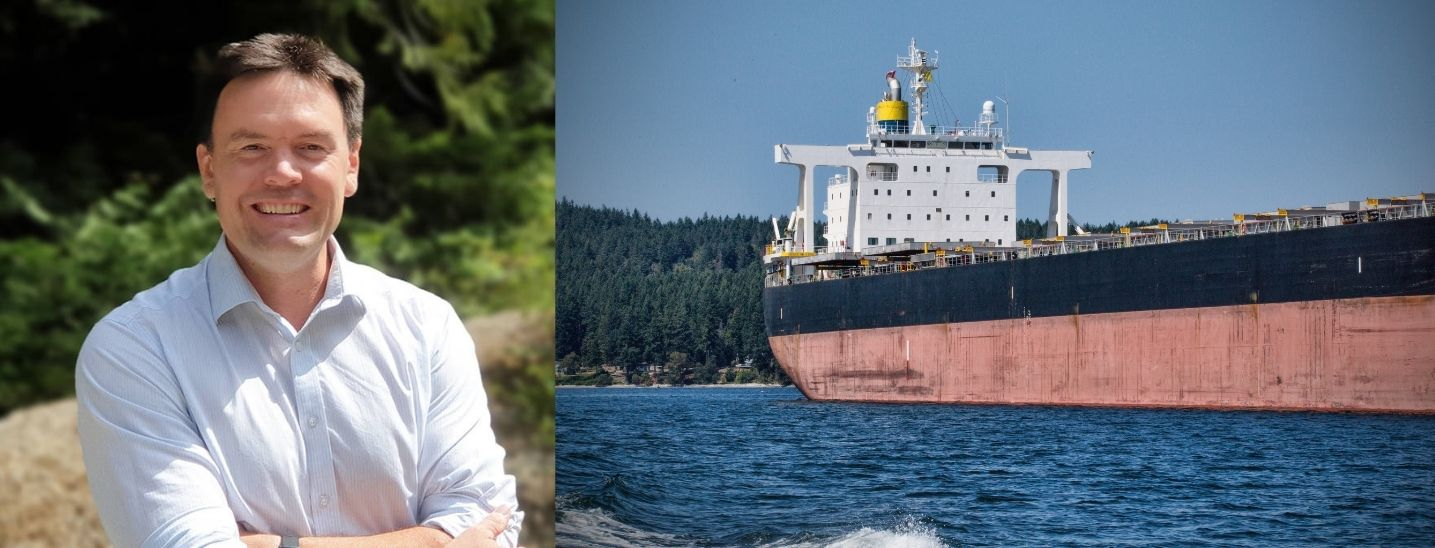 Alistair MacGregor / Freighter around Thetis Island BC