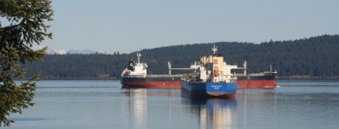 Two freighters